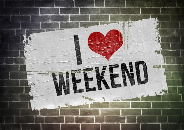 the weekend graphic