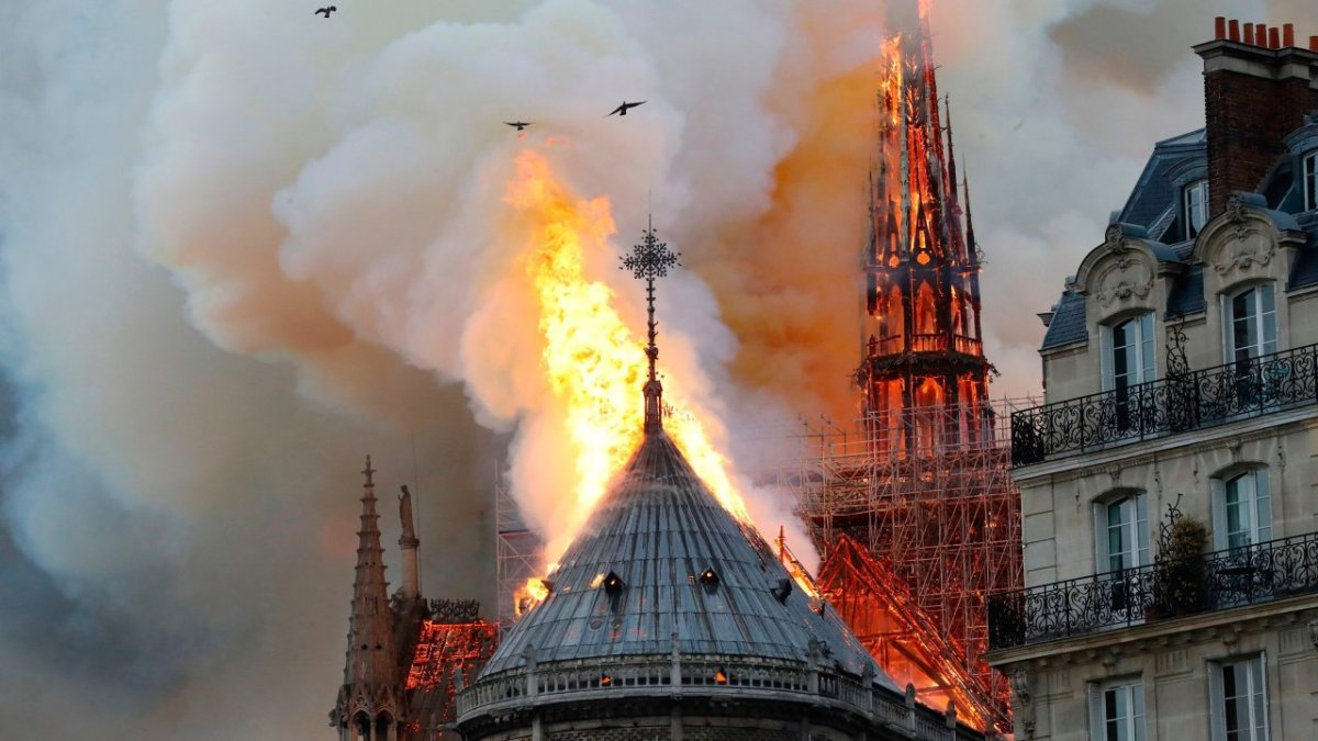 Notre Dame Fire Astrology Synchronicity